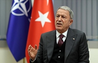 Turkish defense minister says he had 'positive' meeting with Greek counterpart
