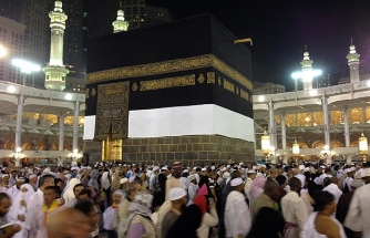 1.7 million Muslims in Saudi Arabia for Hajj pilgrimage
