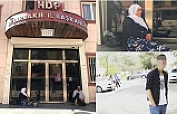 Mother stages sit-in outside party office in SE Turkey