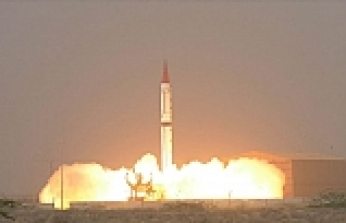 Pakistan conducts ballistic missile test