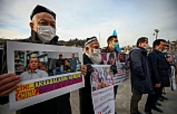 Istanbul: Uighurs demand to know families' whereabouts