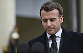 Macron extends support to Israel, urges 'return to peace'