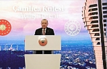 Turkey's state-of-the-art communications tower opens in Istanbul