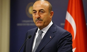 Turkish foreign minister meets Belgian counterpart