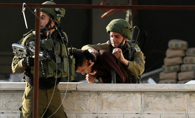 27 Palestinians arrested in West Bank raids