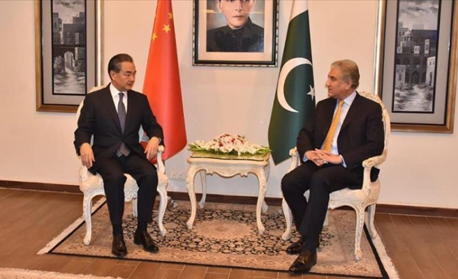 Chinese minister vows to back Pakistan's economy