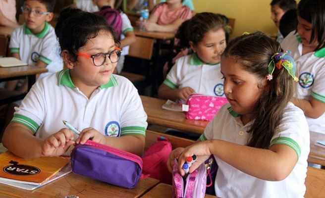 First day of school for 18 million students in Turkey
