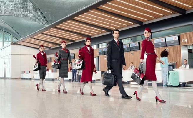 New cabin crew uniforms for Turkish Airlines
