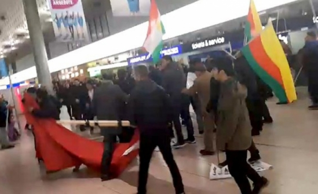 Turkish group in Germany attacked by PKK supporters