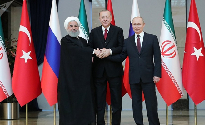 Turkish president heads to Iran for trilateral summit