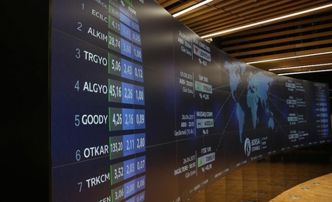 Turkey's benchmark stock index up at open