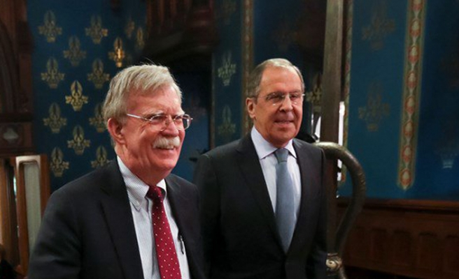 Bolton, in Russia for nuclear talks, meets defence minister