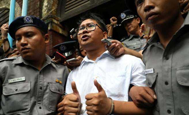 2 Reuters journalists appeal against Myanmar verdict