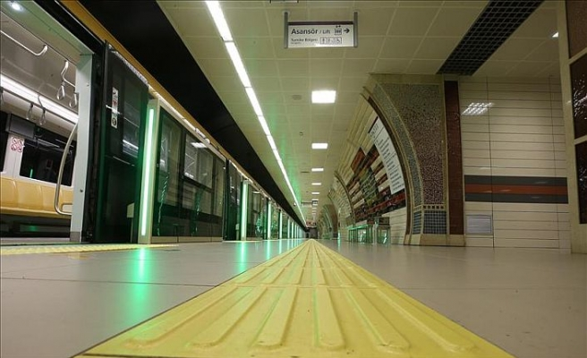 Turkey's metro line ranks Europe's top driverless metro