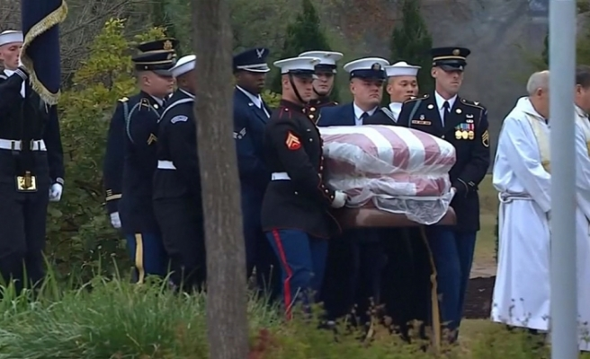 Former US President George HW Bush laid to rest