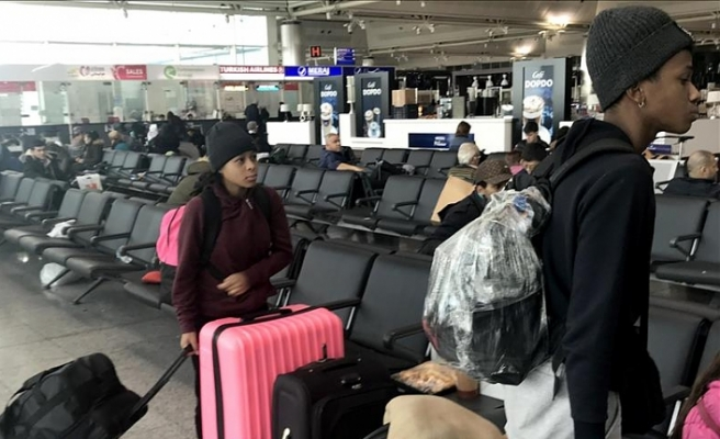 Stranded Columbian dancers fly home with Turkish help