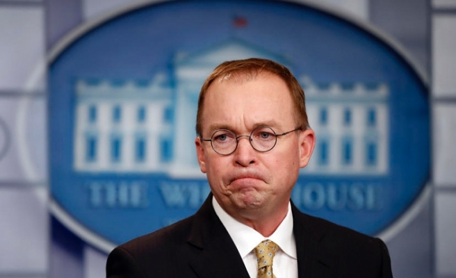 Trump picks budget director as new chief of staff