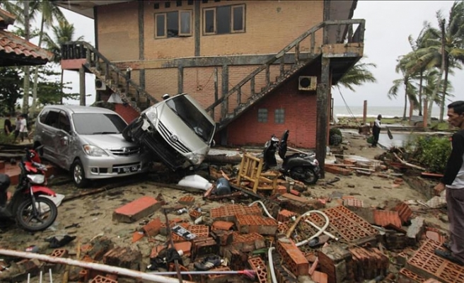 Turkey offers condolonces to Indonesian tsunami victims