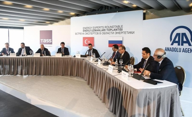 Turkey, Russia energy experts meeting opens in Istanbul