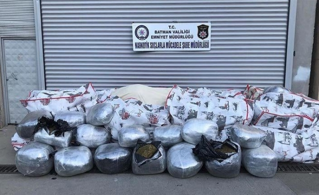 Turkey: Police seize 1 ton of marijuana
