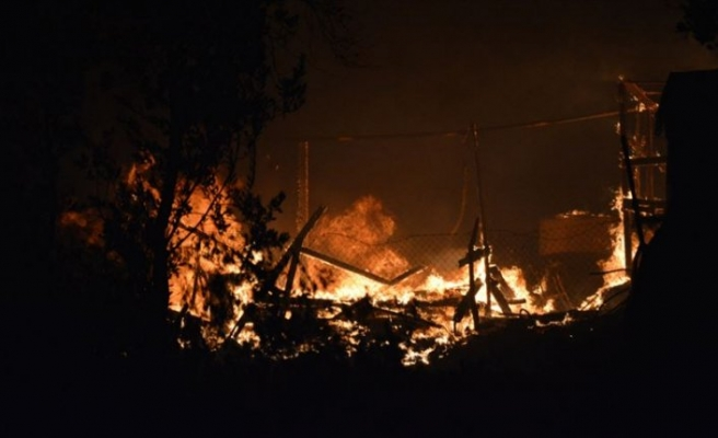 Massive fire breaks out at Rohingya camp in Bangladesh