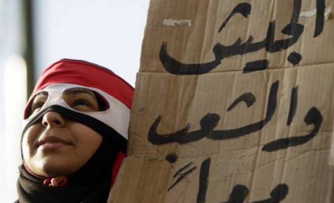 Egyptians gather for mass protest to oust Mubarak