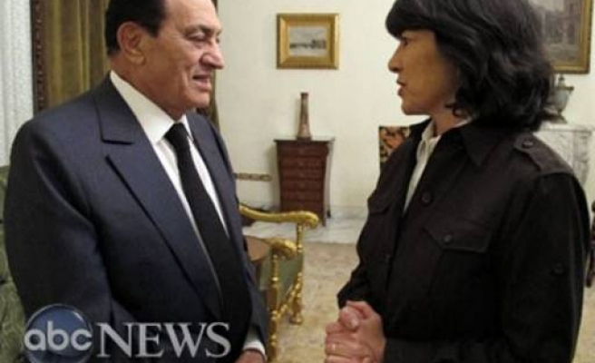 Mubarak rules out early resigning