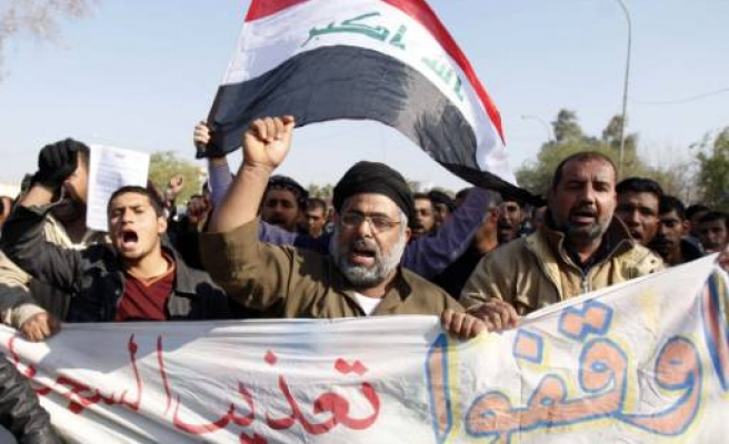 Iraqis demonstrate over lack of basic services