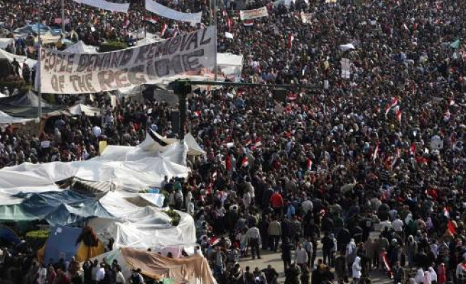 First-timers join mass Egypt protest