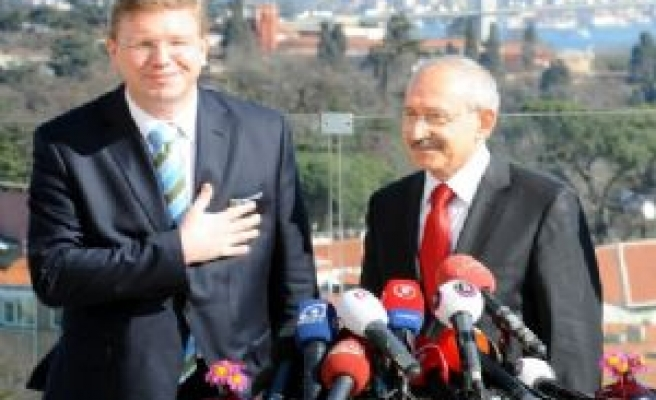 Stefan Fule meets Turkish main opposition leader
