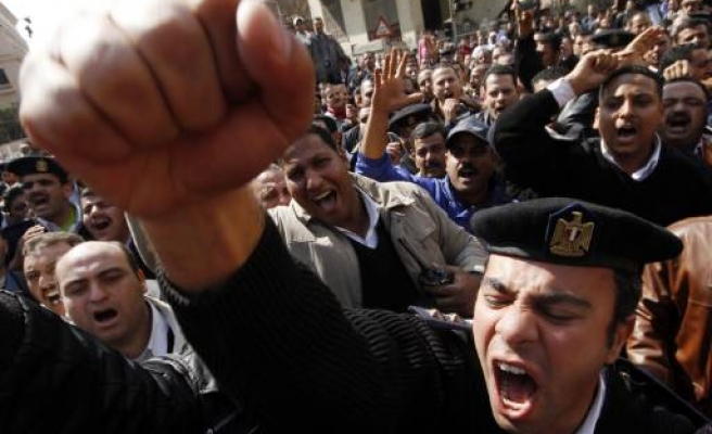 Egypt's military 'to ban protests'