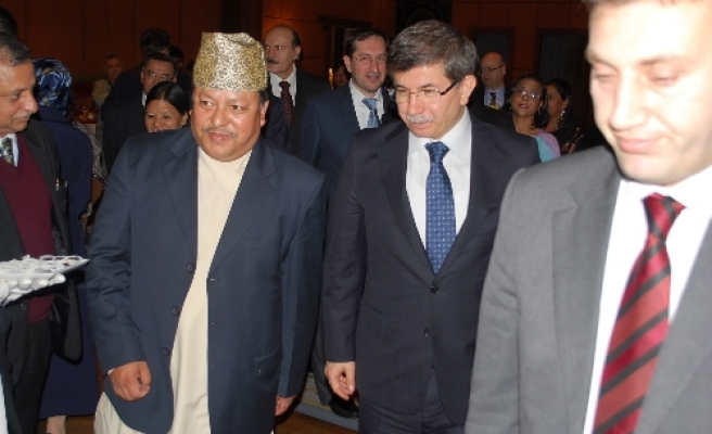 Turkish foreign minister meets Nepali leaders