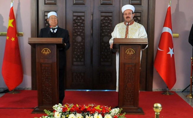 Chinese Muslims wishes to learn from Turkey's experiences
