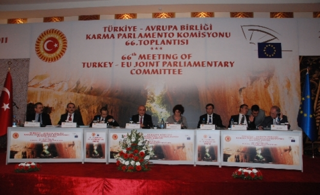 Justice minister addresses Turkey-EU Parliamentary Committee meeting