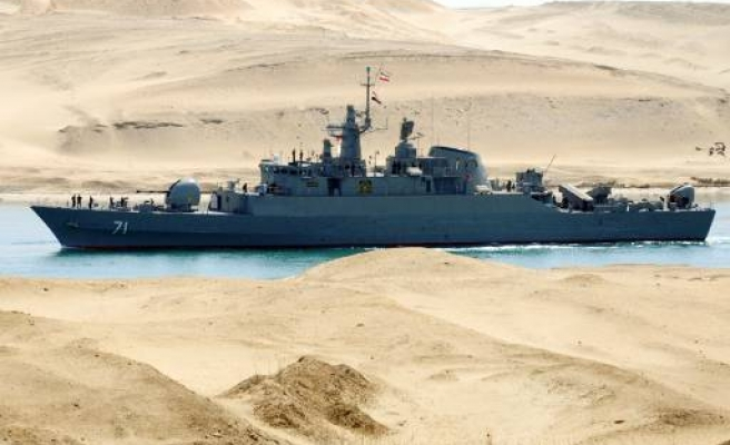 Iran warships dock in Syria