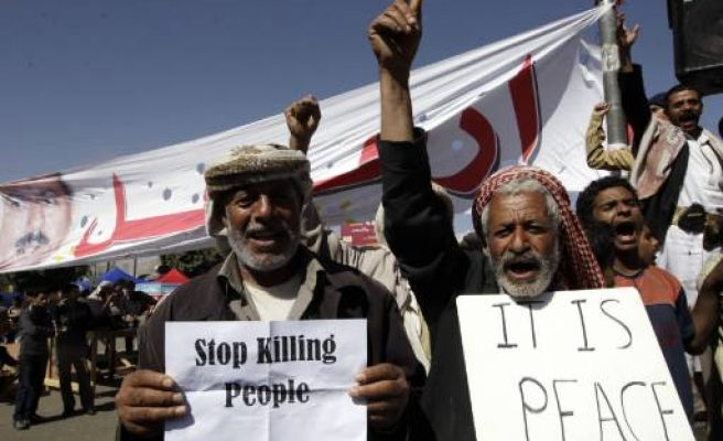 Seven Yemen MPs quit ruling party over violence