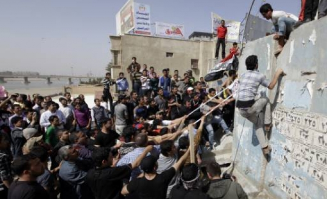 Clashes in Iraqi protests