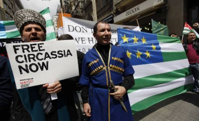 Circassians angered by choice of Sochi for Winter Olympics