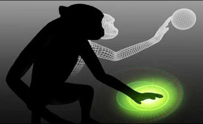 Monkey's mind used to control body of 'avatar'