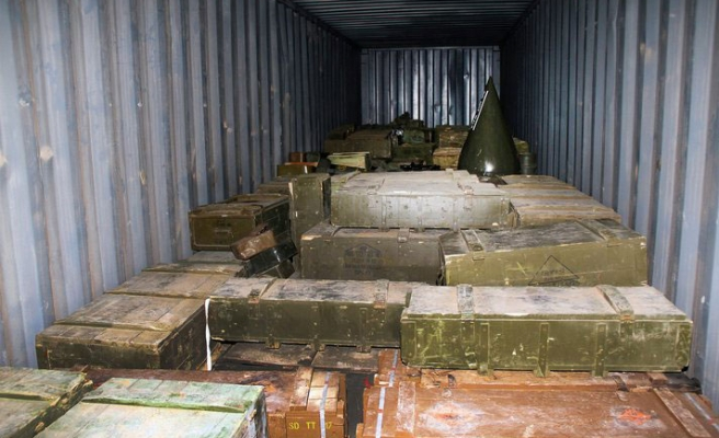 N. Korea shipped missile parts to Syria