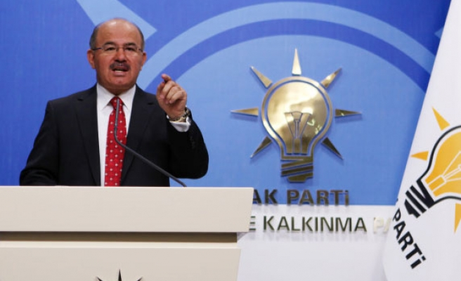 No military training in Syria camp, says AK Party