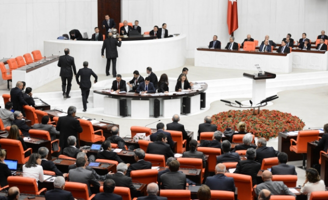 Turkish govt submits presidential system bid to Parliament