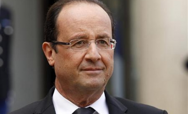 Judge me on economy in five years- Hollande