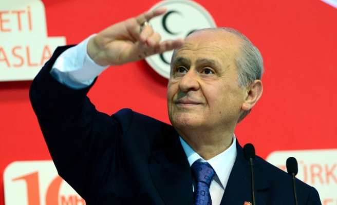 Turkish nationalist party re-elects Bahçeli for sixth time