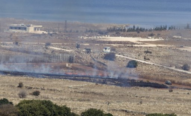 Syrian planes bomb border post near Israel captured by rebels