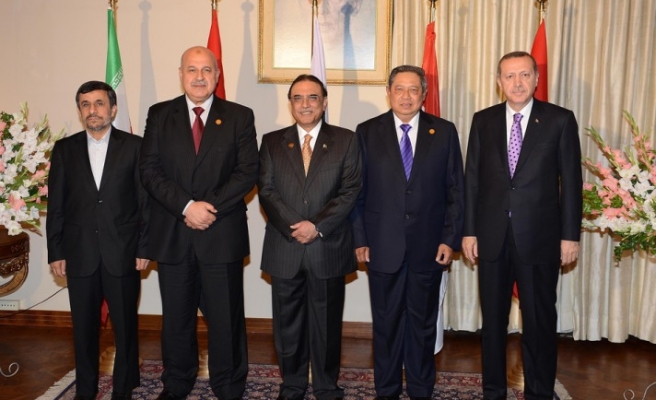 Turkey's PM urges more effective role during D8 summit