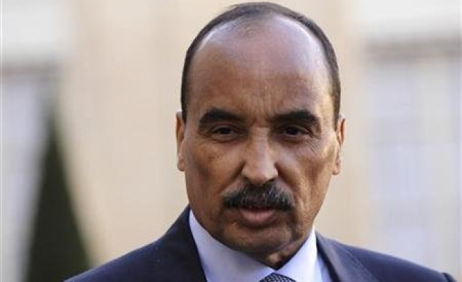 Mauritanian president says returning to France