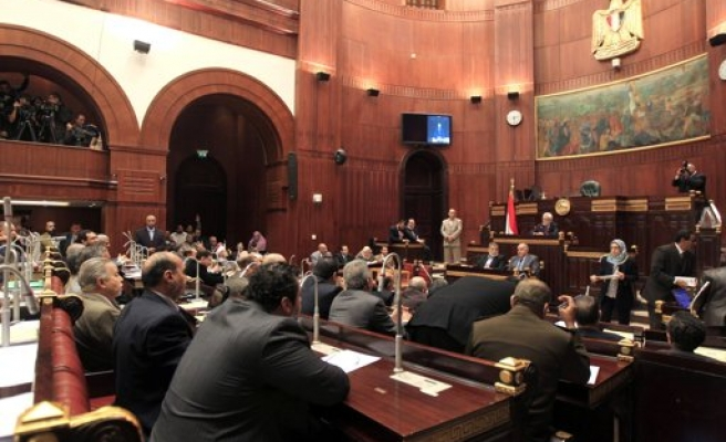 Egypt assembly approves historic changes amid criticism