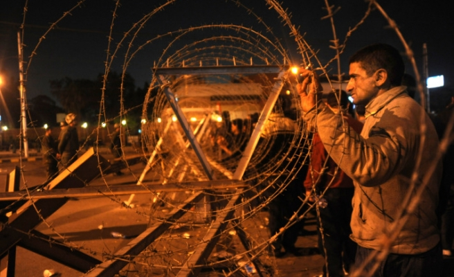 Egyptians held by army during vote to face civil courts