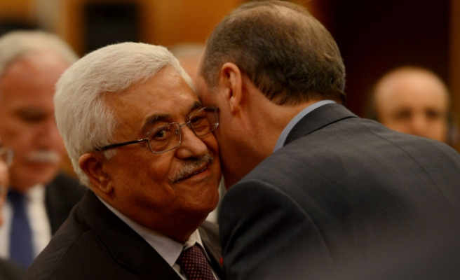 Palestinian president says unified Palestine a must